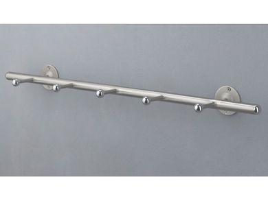 Hakenleiste Garderobenleiste 72cm 5 Haken Metall Sale