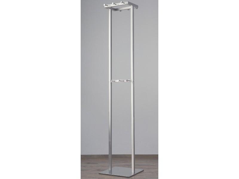 Standgarderobe Garderobenständer modern Metall 001