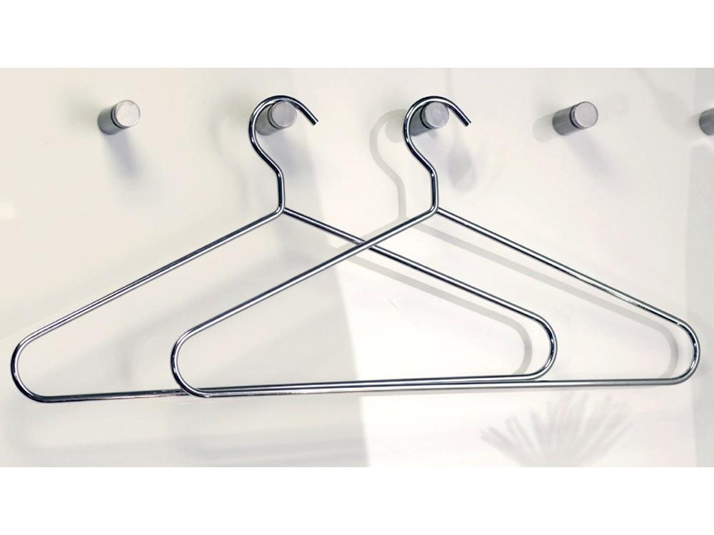 Kleiderbügel 5er Set, Hosenbügel Metall verchromt Sale 001