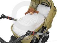 Kinderwagendecke Bettdecke Kinder 80 x 80 cm Daunendecke für Kinderwagen