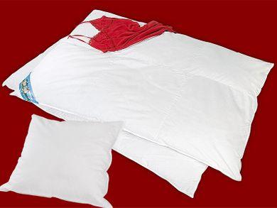 Daunenbettdecke Set mit Kopfkissen Bettdecke 135x200 Kissen 80x80