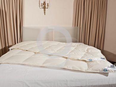 4 Jahreszeiten Bettdecke 155x220 Steppdecken Übergröße 100% Daune