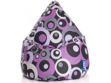 Kinder Sitzsack Sitzkissen Bean Bag XL lila 110x70 Indoor