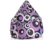 Kinder Sitzsack Sitzkissen Bean Bag XL lila 110x70 Indoor