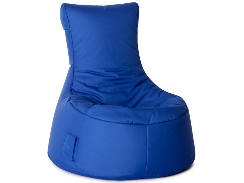 Sitzsack Outdoor XL Sitzsessel blau Sitzkissen 001