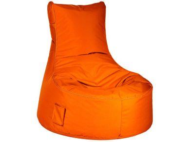 Sitzsack Outdoor Sitzsessel Sitzkissen XL orange waschbar