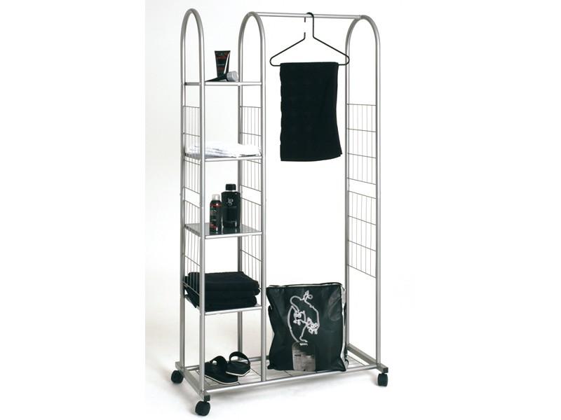 rollgarderobe garderobenst nder 171x85 ablagef cher flur flur garderobenst nder. Black Bedroom Furniture Sets. Home Design Ideas