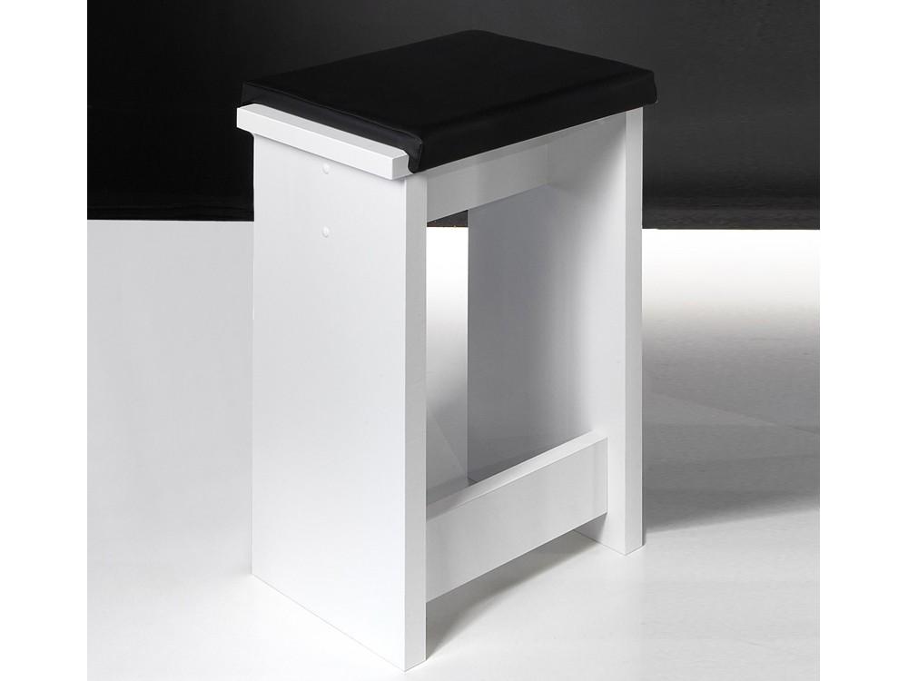 bartisch set 5 teilig 1 tisch und 4 hocker wei matt sale. Black Bedroom Furniture Sets. Home Design Ideas