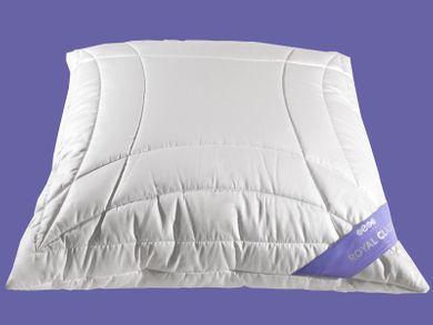 Kopfkissen Qualitätskissen 80x80 Baumwollsatin Tencel versteppt