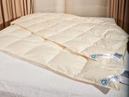 4 Jahreszeiten Bettdecke 135x200 90% Daunen Nomite