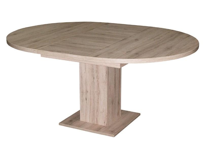 esszimmertisch rund 120 cm ausziehtisch eiche s gerau On esszimmertisch rund