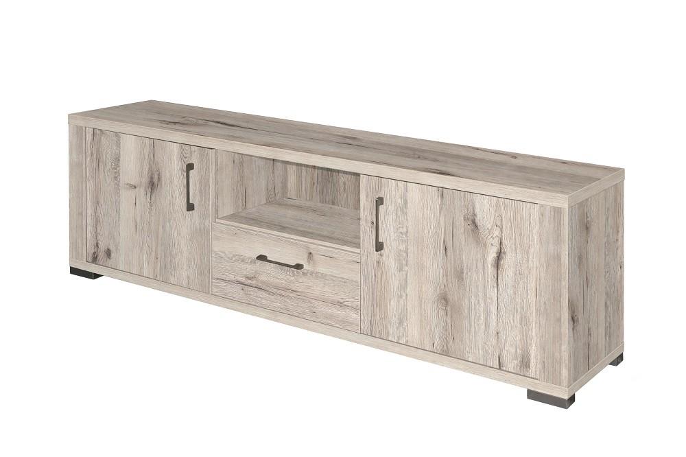 lowboard fernsehunterschrank 192cm sand eiche hell. Black Bedroom Furniture Sets. Home Design Ideas