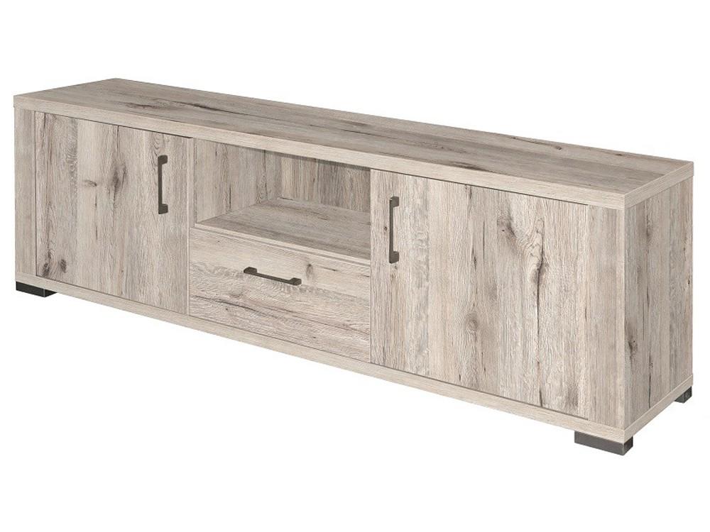lowboard fernsehunterschrank 192cm sand eiche hell m bel m bel medienm bel. Black Bedroom Furniture Sets. Home Design Ideas
