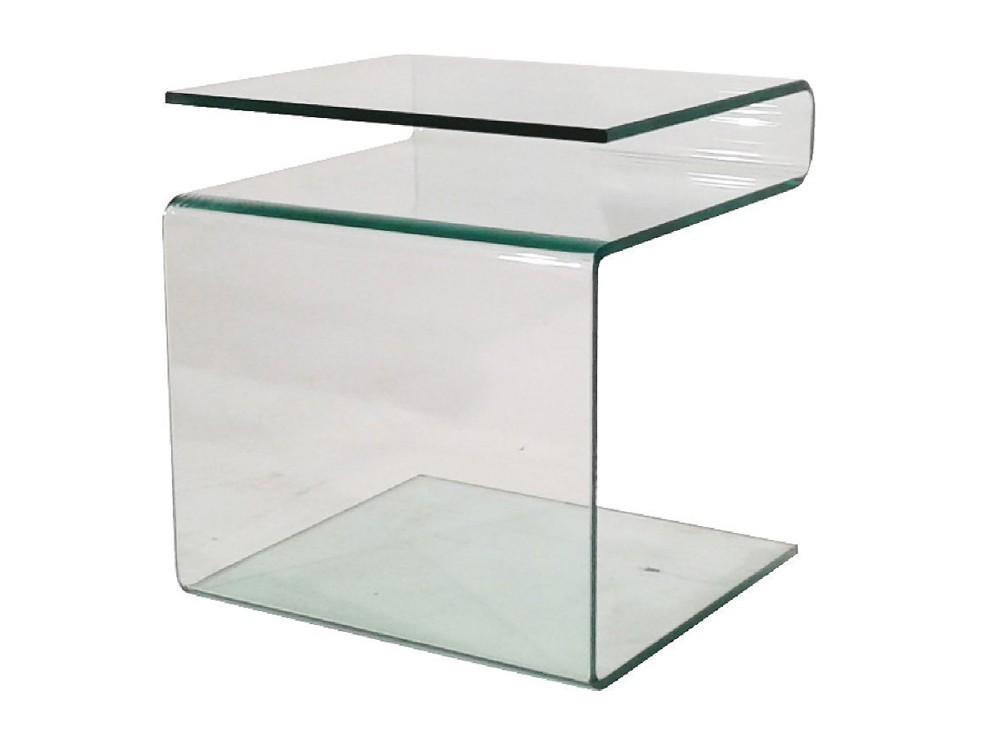 Beistelltisch Glastisch Mit Zeitungsständer 48x42x38 Sale Möbel