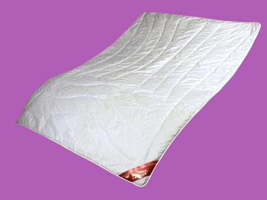 Sommer Bettdecke Kaschmir 135x200 leicht Steppbett Natur Steppdecke Cashmere