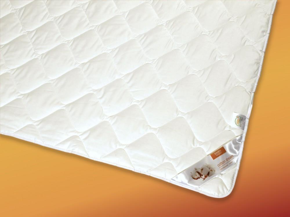 Matratzenauflage 160x200 Topper Unterbett Baumwolle Weiss Spanngummis