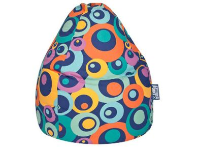 Kinder Sitzsack XL Sitzkissen Bean Bag Blau 70x110 Indoor
