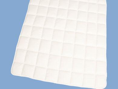 Matratzenauflage 120x200 Schurwolle Topper Unterbett Baumwolle