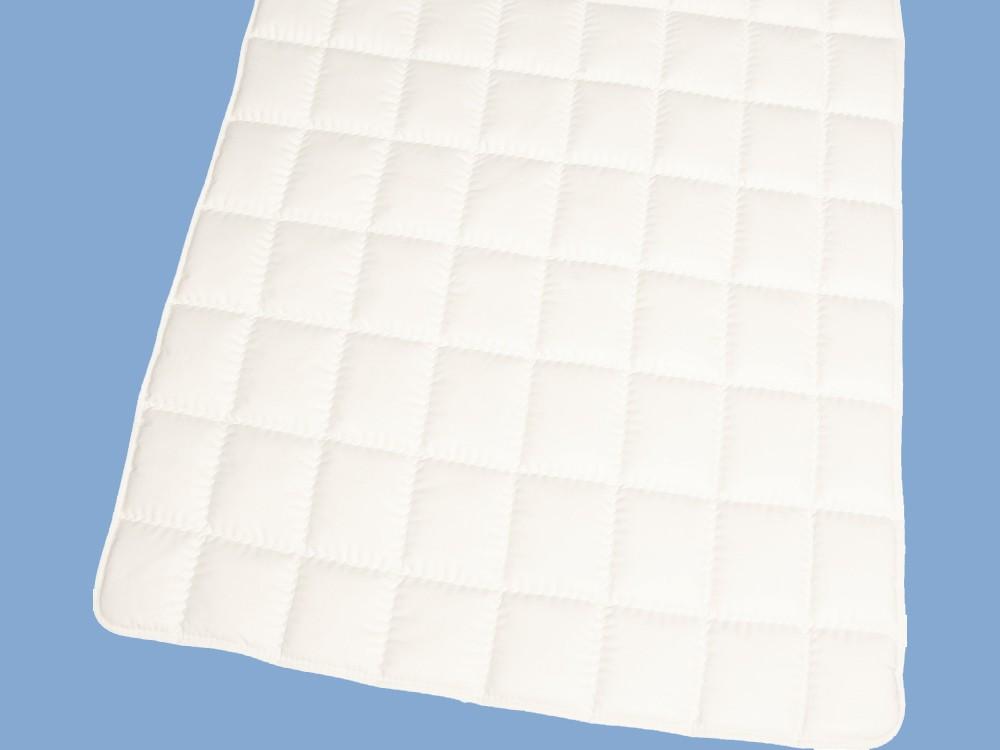 Matratzenauflage 160x200 Schurwolle Topper Unterbett Baumwolle  001