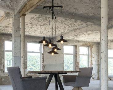 Esstischlampe Pendelleuchte industrial Design 5-flammig