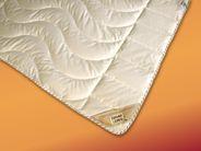 Bettdecke 155x200 Leinen Steppdecke extra leicht Bio Bettdecke