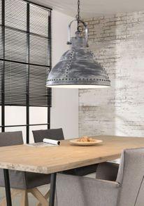 Pendelleuchte Esstisch Deckenleuchte industrial Look mit Nieten