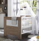 Babybett Kinderbett Kindermöbel stirling oak/anderson pine Kimi