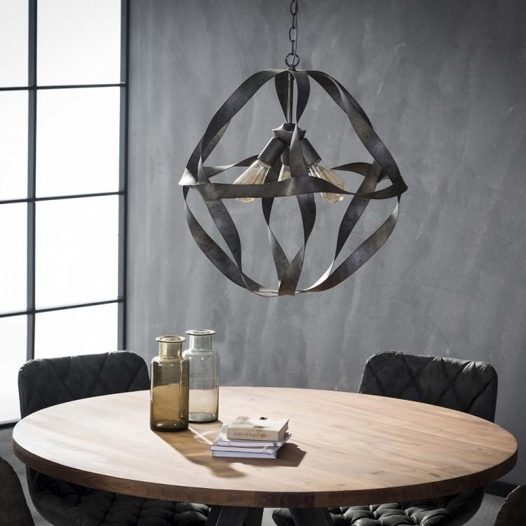 Esszimmerlampe Pendelleuchte Esstisch 1 Lampenschirm mit 3 Fassungen 001