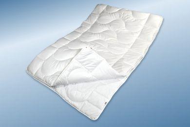 4 Jahreszeiten Bettdecke 155x200 Steppbett waschbar trocknergeeignet