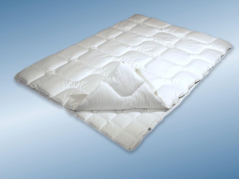 4 Jahreszeiten Bettdecke 155x200 Allergiker Steppbett kochfest 001