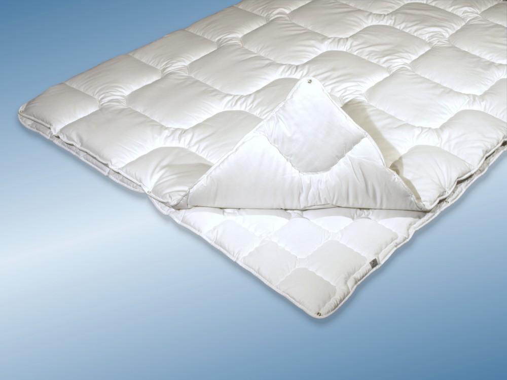 4 jahreszeiten bettdecke 155x220 allergiker steppbett kochfest. Black Bedroom Furniture Sets. Home Design Ideas