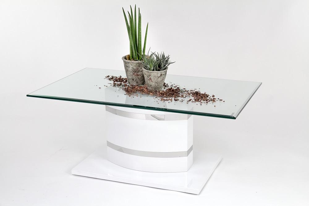 Design couchtisch glastisch wohnzimmertisch 100x60 for Glastisch wohnzimmertisch