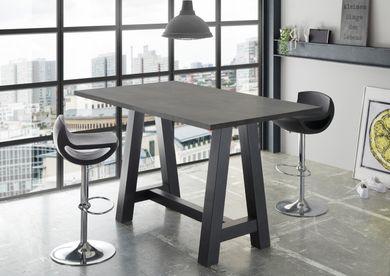 Stehtisch Bartisch Office Tisch Bistrotisch Graphit 120x70