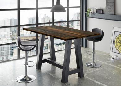 Stehtisch Bartisch Office Tisch Bistrotisch Texas Oak 120x70
