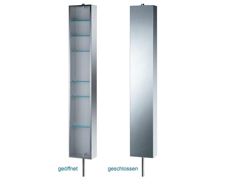 Spiegelschrank 140 Cm Breit : spiegelschrank drehschrank edelstahl breit 25 cm pika ~ Indierocktalk.com Haus und Dekorationen