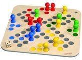 Brettspiel  Go 4 ,  50 x 50 cm mit 5 cm hohen Holzfiguren (LUDO / Go4), für 2 - 4 Spieler ab 3 Jahren!