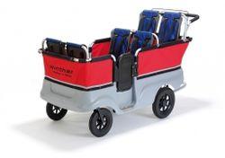 Turtle Kinderbus für 6 Kinder von Winther (Turtle Bus / Turtlebus / Kinderwagen)