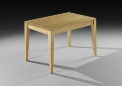 Esstisch / Tisch Piccolino mit Stollenauszug, der Esstisch für kleine Räume, vergrößerbar mit Stollenauszug