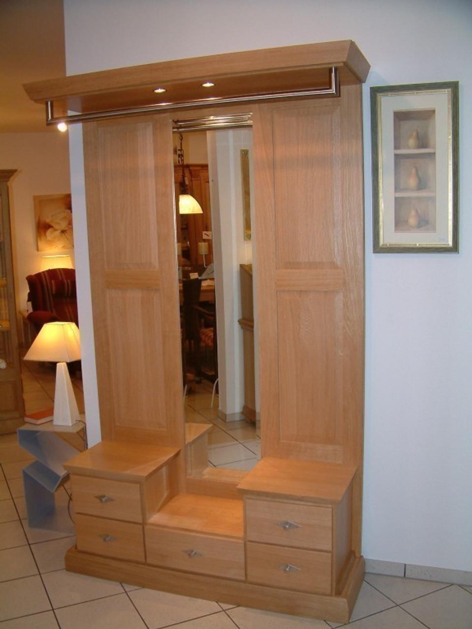 garderobe malta die moderne landhaus garderobe nach ma in eiche buche oder kirschbaum. Black Bedroom Furniture Sets. Home Design Ideas