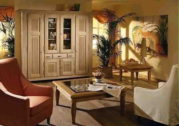 wohnschrank / wohnzimmer-schrank perigo eiche vollmassiv, farbton ... - Moderne Wohnzimmer Schrank