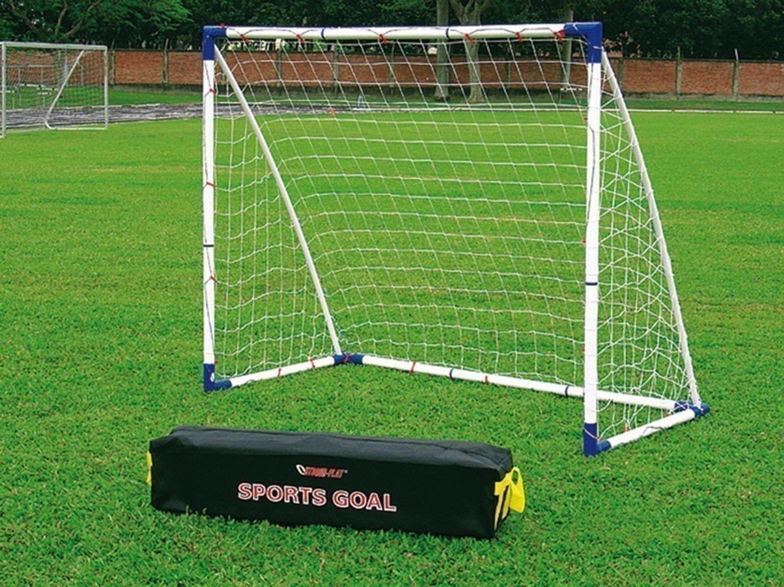 fu balltor set mini soccer goal 16 set 1 gro es tor oder 2 kleine tore steckbare tore f r. Black Bedroom Furniture Sets. Home Design Ideas