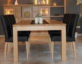 Esstisch / Tisch Adraton mit Kopfauszug, in Eiche, Asteiche, Buche, Kirschbaum, Kernbuche, Ahorn oder Nußbaum massiv