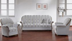 Polstergruppe Lux Medico Royal 9800 von Wemafa Polstermöbel - Sichtholz in Eiche oder Buche