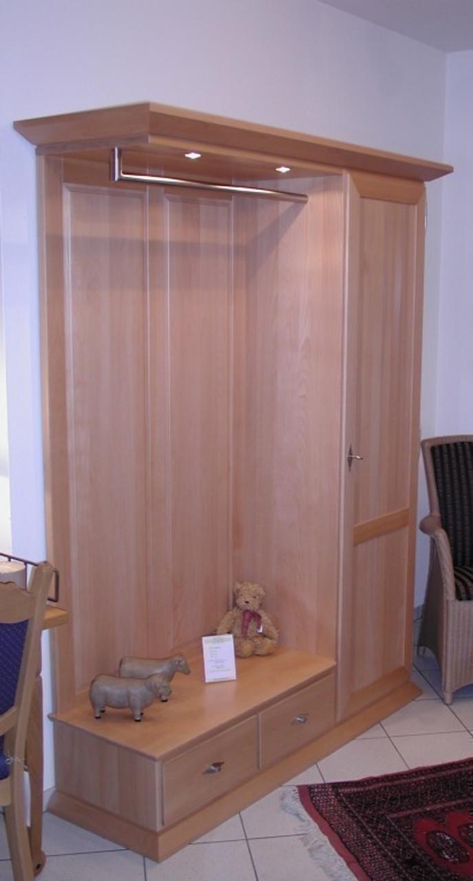 standgarderobe massgarderobe eiche massiv buche massiv oder kirschbaum massiv modell gala. Black Bedroom Furniture Sets. Home Design Ideas