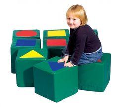 LoGeo Pick Up Komplett-Set (=9-teiliger Bausatz + passender Weichbodenbezug)