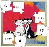 Feedback Puzzle  Addition bis 20  - tolles Tier-Holzpuzzle (27 x 27 cm) von K2 Publisher