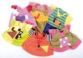 1 x pinkes Kleid für Little Rubens  Ida  (Kleid mit Tier-Applikation/Herz + Unterhose)