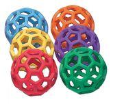 RubberFlex GrabBalls 6er-Set / Bälle mit Netzstruktur / Durchmesser: 21,6 cm / Einzelgewicht: 185 g von SPORDAS