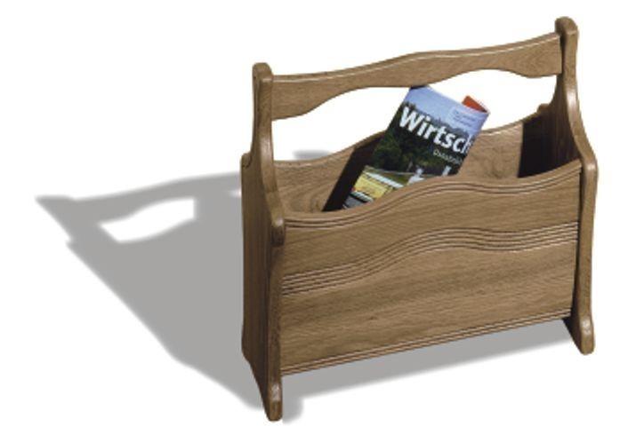 Möbel Geldern zeitungsständer geldern eiche massiv moderne möbel und