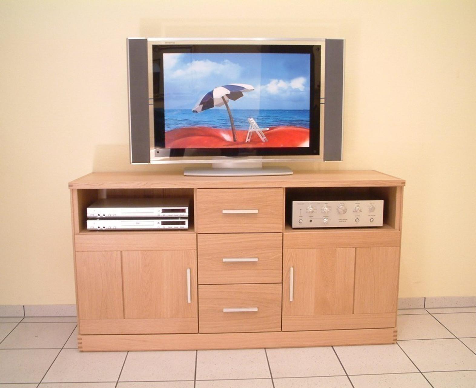 Kantatus Tv Mobel Sideboard Moderne Tv Anrichte Kommode Breite 143 Cm Type M3ni 143 In Eiche Vollmassiv Auch In Buche Kernbuche Oder Kirschbaum Moglich Moebelwunsch24